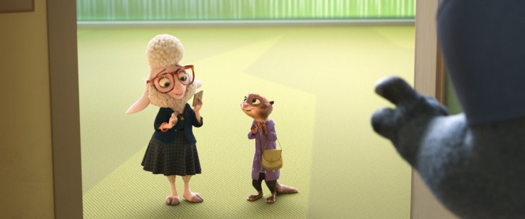 Zootopia - Bellwether and Mrs Otterton