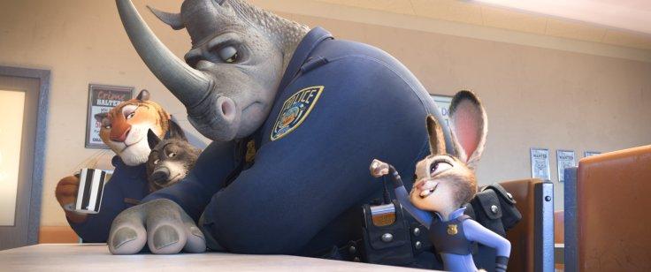 Zootopia - police department