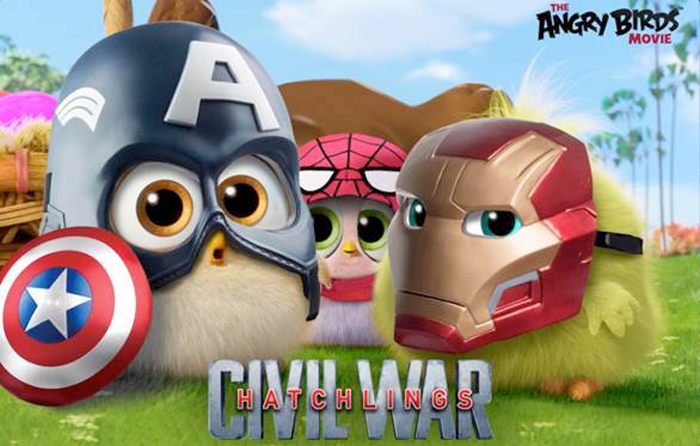 Angry Birds - Civil War