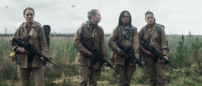 annihilation featurette cast