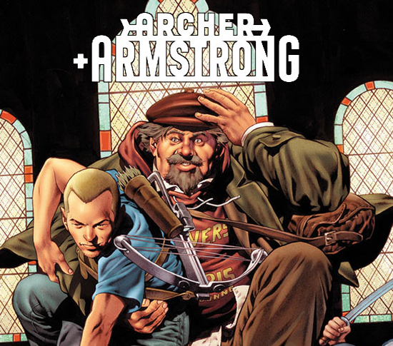 Archer & Armstrong movie