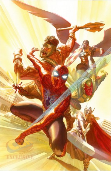 The Avengers #4 - Alex Ross
