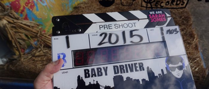 baby driver filming