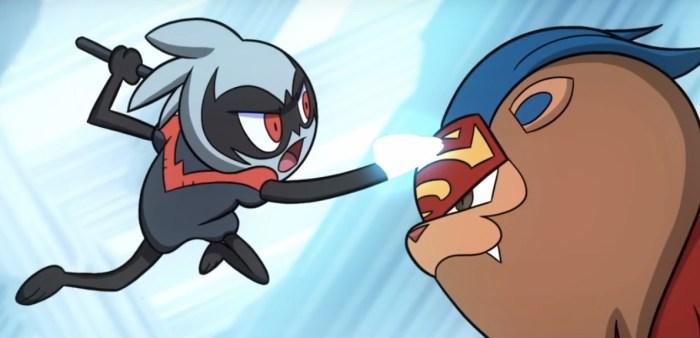 Batman v Superman Pokemon Battle