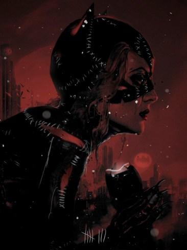 Laz Marquez Catwoman Print