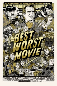 Best Worst Movie Theatrical Poster [Gold Silver Version]