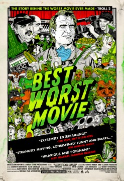 Best Worst Movie Theatrical Poster