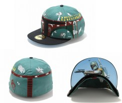 New Era Japan's 59Fifty fitted Star Wars Caps - Boba fett