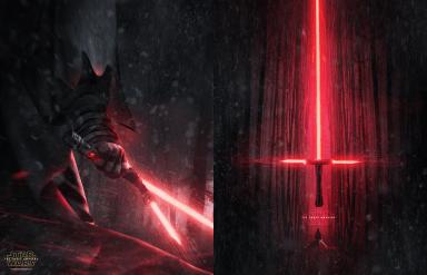 bosslogicInc Star Wars Force Awakens Fan art