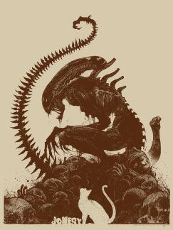 bottleneck gallery alien posters
