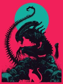 bottleneck gallery alien posters 2