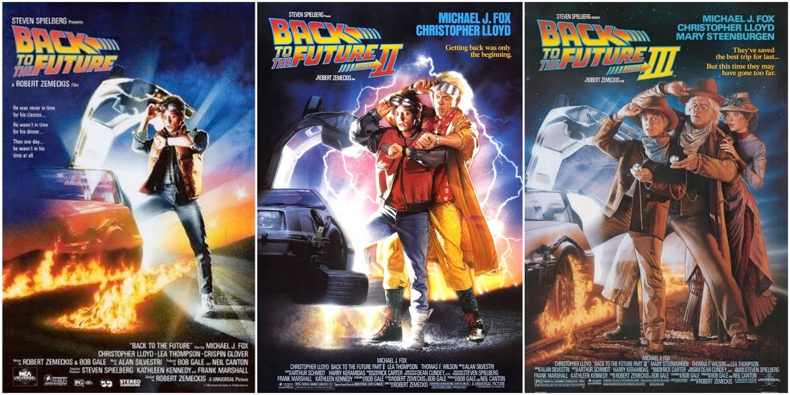 Image result for back to the future trilogy posters