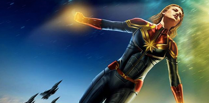 Captain Marvel - Fanmade Infinity War Poster