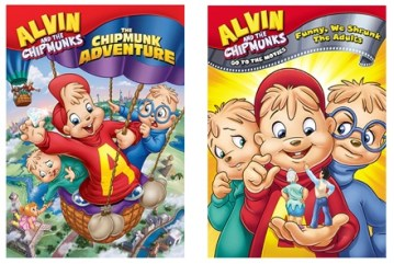 Alvin and the Chipmunks on DVD