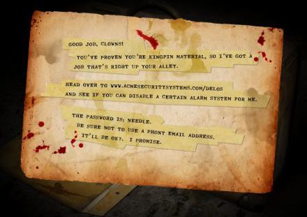 ClownTravelAgency.com Message