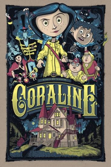 Coraline Mondo Print
