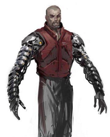 Deadpool - Garrison Kane Concept Art
