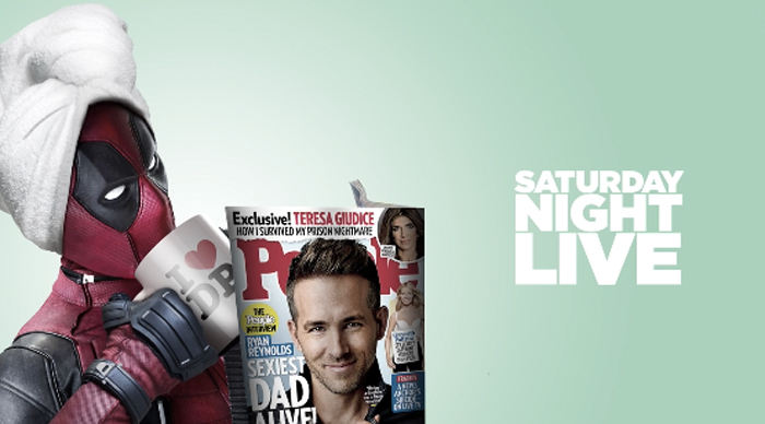 Deadpool Hosting SNL