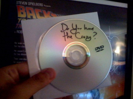 Do You Have the Crazy DVD