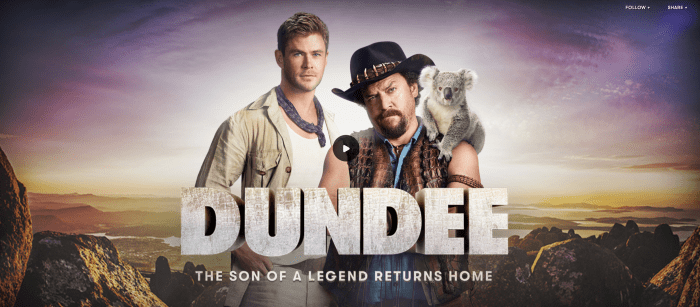 Dundee Danny McBride Chris Hemsworth
