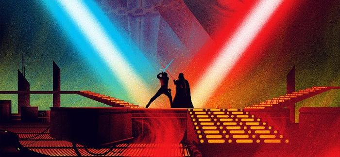 Kevin Tong Star Wars Prints - The Empire Strikes Back