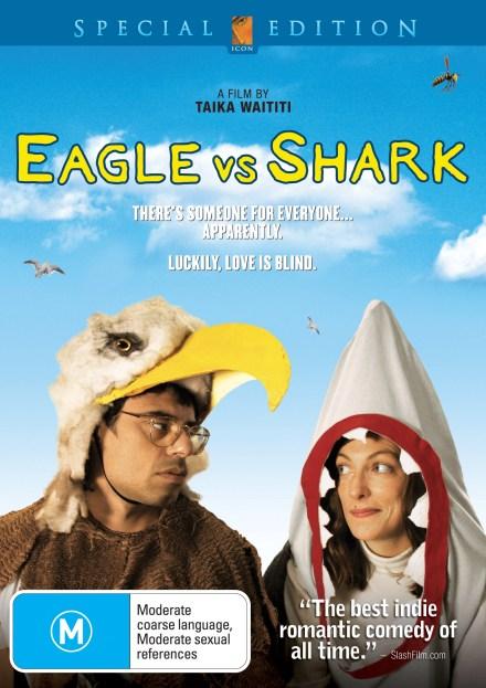 Eagle vs. Shark DVD Cover