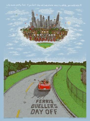 Ferris Bueller's Day Off Print - Marq Spusta