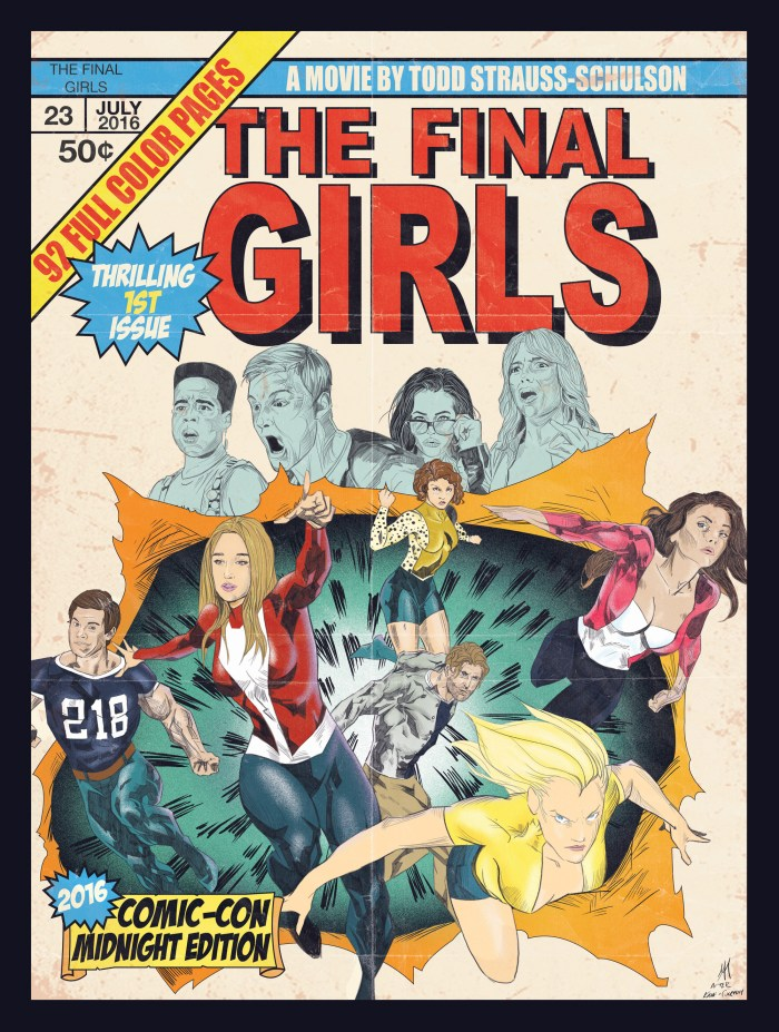 The Final Girls Comic-Con Poster