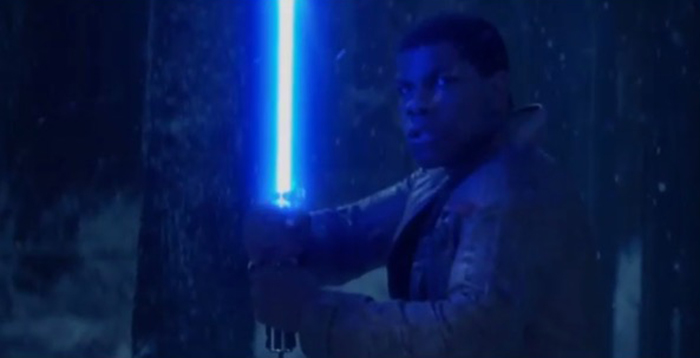 The Force Awakens footage