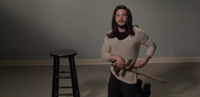 Kit Harington Game of Thrones Audition