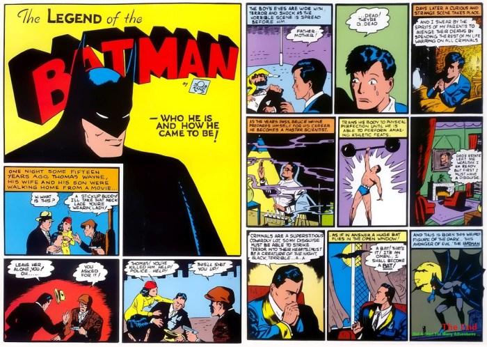 golden age batman origins
