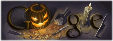 לוגו גוגל הלואין