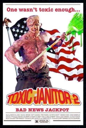 Simon Williams Movie Poster - Toxic Janitor 2