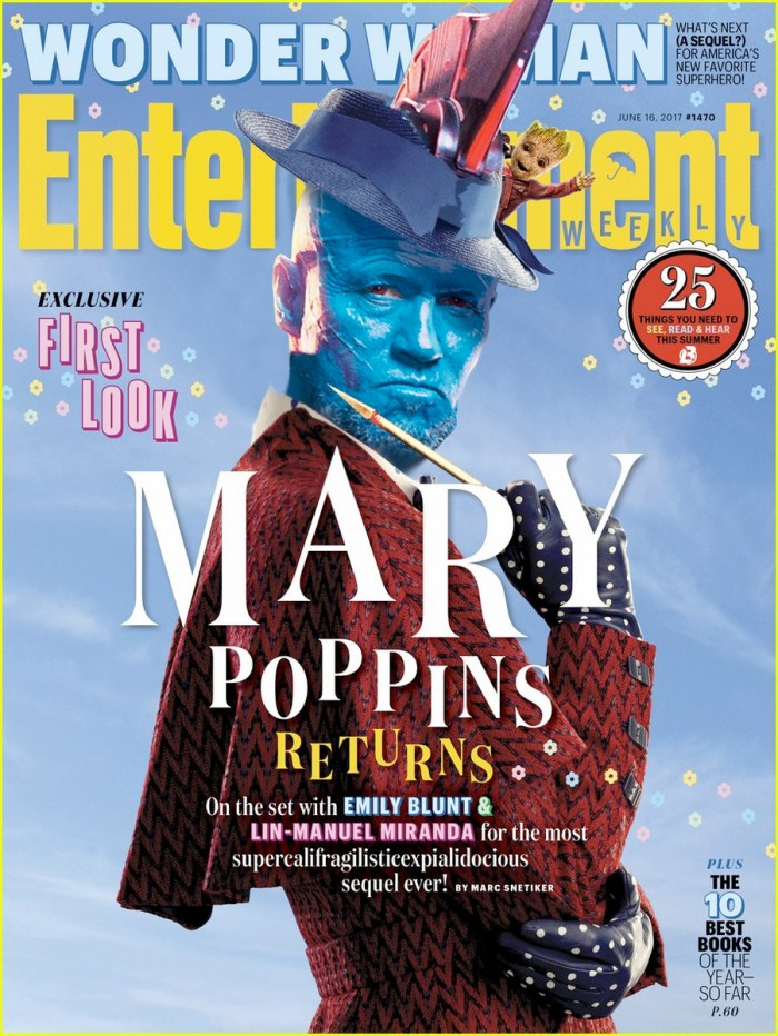 Guardians of the Galaxy 2 - Yondu as Mary Poppins