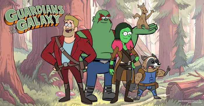 Guardians of the Galaxy - Brickleberry
