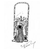 J.K. Rowling Harry Potter Sketches - Mirror of Erised