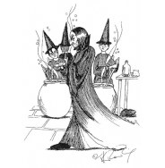 J.K. Rowling Harry Potter Sketches - Snape
