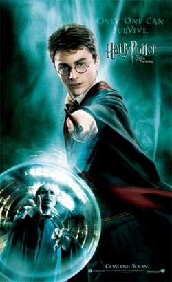 Overseas Harry Potter and the Order of the Phoenix Movie Posters