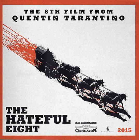 Hateful Eight trailer release