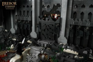 The Hobbit LEGO Erebor