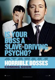 Horrible Bosses Poster Bateman Spacey