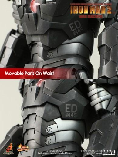 Iron Man 2: 1/6th scale War Machine Collectible Figure