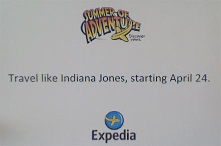 Indiana Jones Expedia
