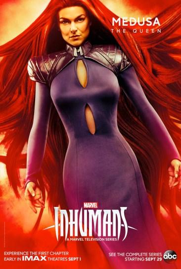Inhumans - Medusa Poster