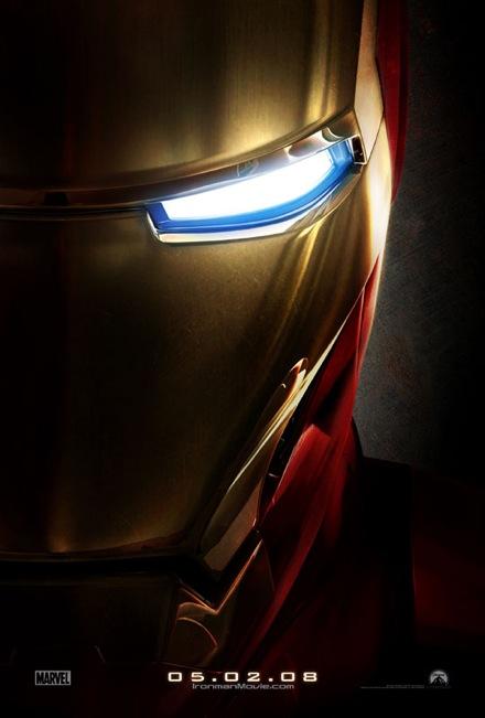 Iron Man Teaser Movie Poster