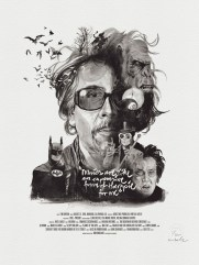 Julian Rentzsch Portrait - Tim Burton