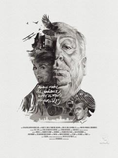 Julian Rentzsch Portrait - Alfred Hitchcock