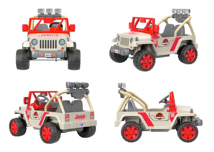 Power Wheels Jurassic Park Jeep