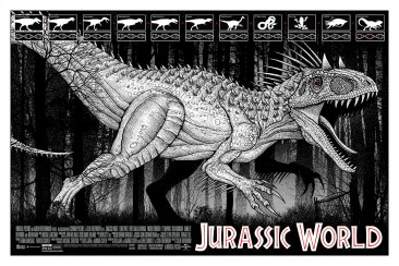 Jurassic World Print - Dan McCarthy