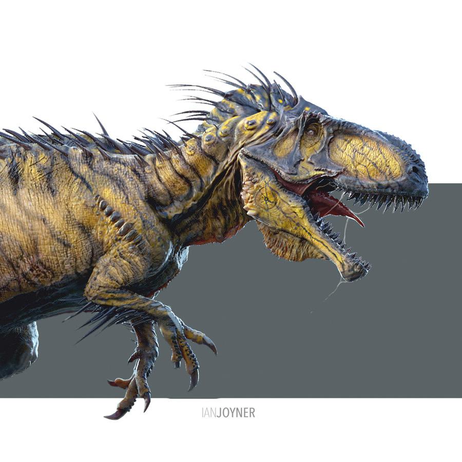 POTD: Jurassic World Indominus Rex Concept Art Shows a ...